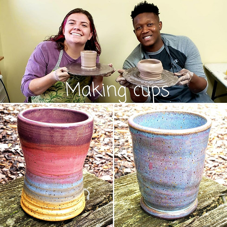 11am Making Cups on the Potter's Wheel $38