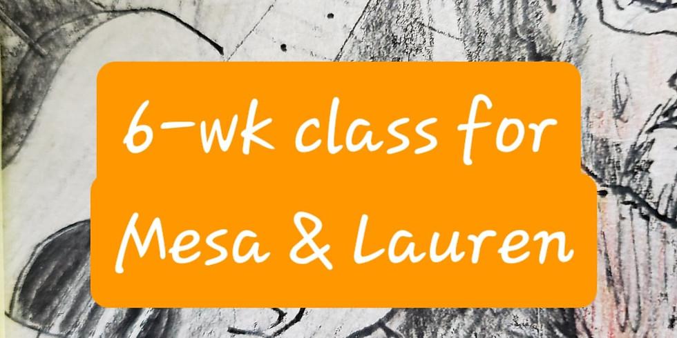 6wk clay RESERVED Mesa & Lauren