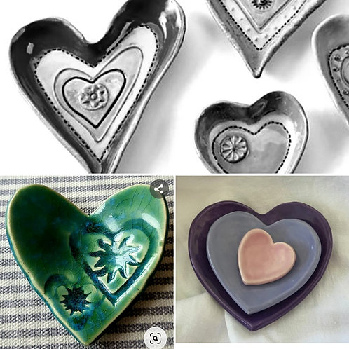 Hearts dish class- family booking