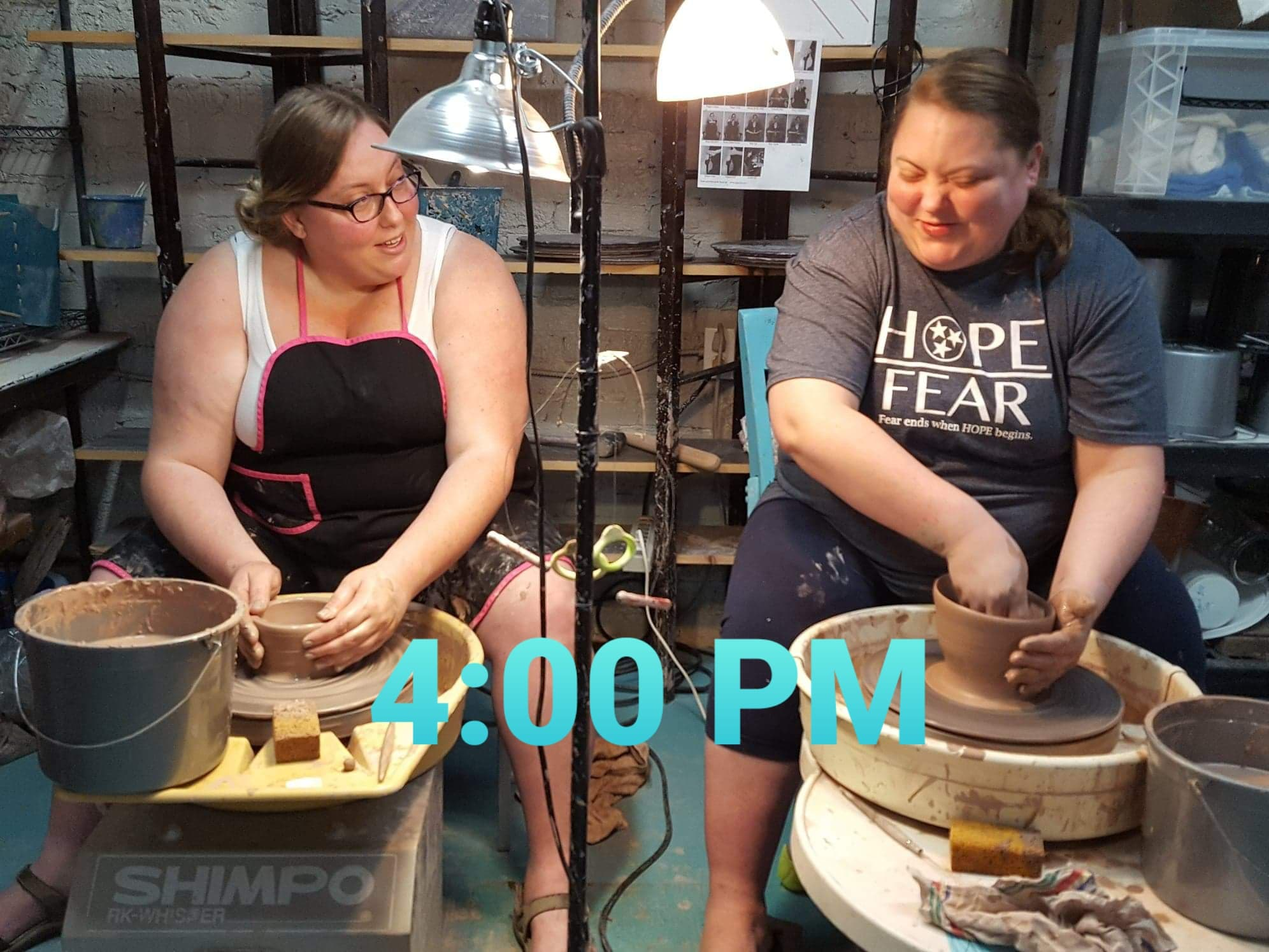Clay Class on the Potter's Wheel $35