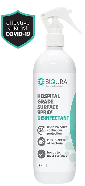 500ML - HOSPITAL GRADE SURFACE SPRAY DISINFECTANT