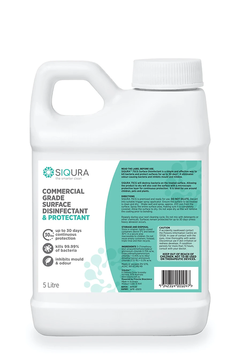 5L - COMMERCIAL GRADE SURFACE DISINFECTANT