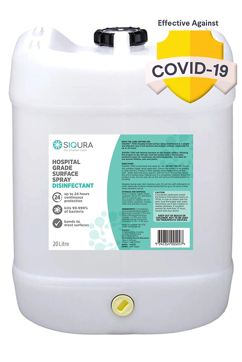 20L - HOSPITAL GRADE SURFACE SPRAY DISINFECTANT