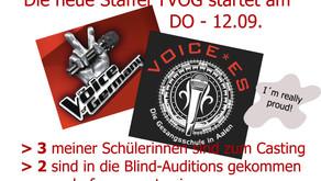 """Die neue Staffel """"Voice Of Germany"""" startet am 12.09.2019"""
