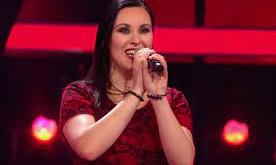 "Steffi Stuber mit ""Ghost Walking"" bei den Blinds am 12.09."