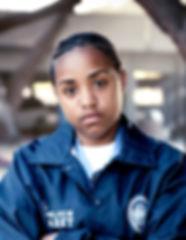 Young Policewoman