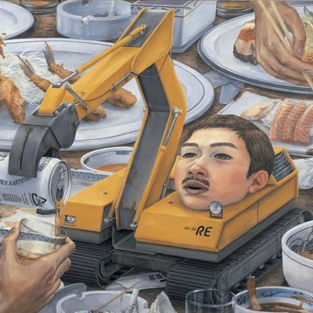 石田徹也 回顧展  『Self-Portrait of Other 他人の自画像』  シカゴのギャラリーで12月14日まで
