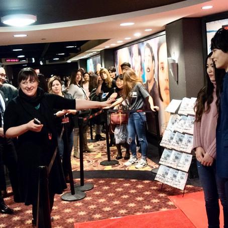 日韓合作映画『風の色』シカゴプレミア上映。主演の古川雄輝さんに密着取材。