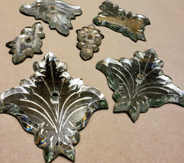 beautiful hand-etched accent pieces