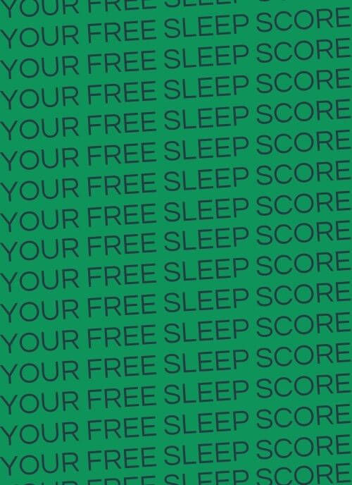 Sleep Loop My Sleep Score