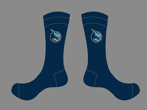 Seahawks Crew Socks - Navy