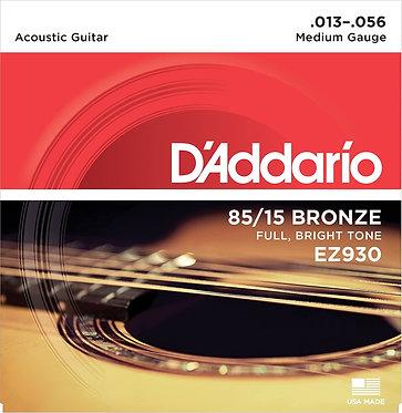 D'Addario 13-56.  85/15 Bronze EZ930