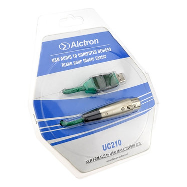 Alctron USB to XLR Microphone Link