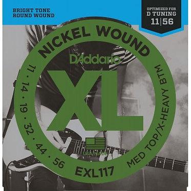 D'Addario Nickel Wound EXL117