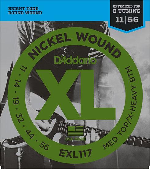 D'Addario EXL117 11-56