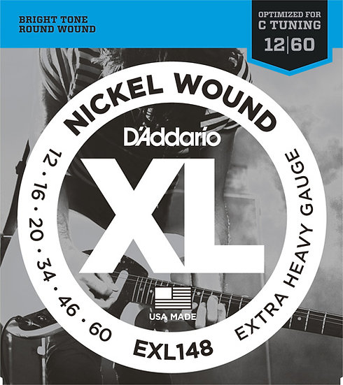 D'Addario EXL148 12-60