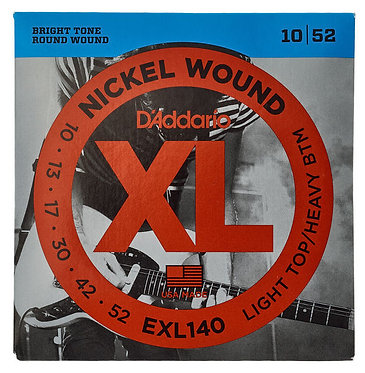 D'Addario Nickel Wound EXL140