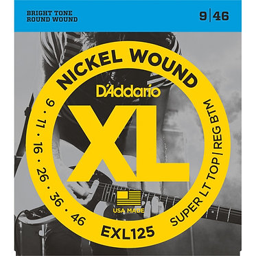D'Addario Nickel Wound EXL125
