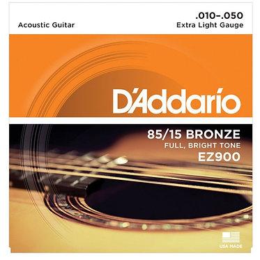 D'Addario 10-50.  85/15 Bronze EZ900