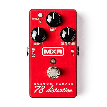 MXR Custom Badass '78 Distortion Pedal