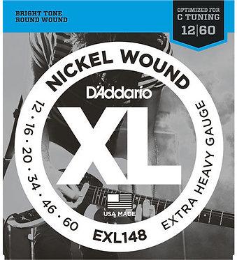 D'Addario Nickel Wound EXL148