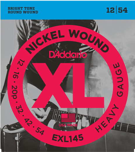 D'Addario EXL145 12-54