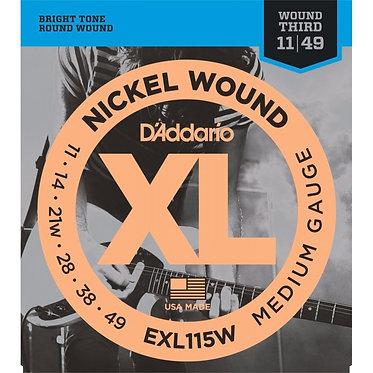 D'Addario Nickel Wound EXL115W