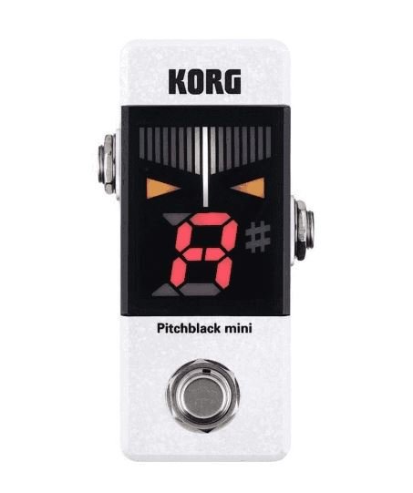 Korg Pitchblack Mini in White
