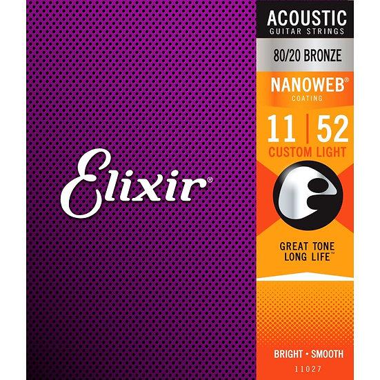 Elixir 80/20 Bronze 11-52
