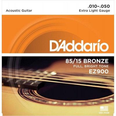 D'addario 10-50. EZ900 85/15 Bronze