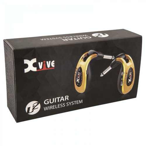 Xvive U2 Wireless Guitar System in Gold