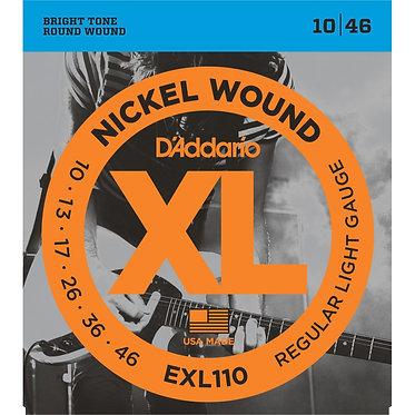 D'Addario Nickel Wound EXL110