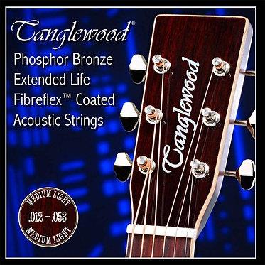 Tanglewood 12-53. Phosphor Bronze Med Lights