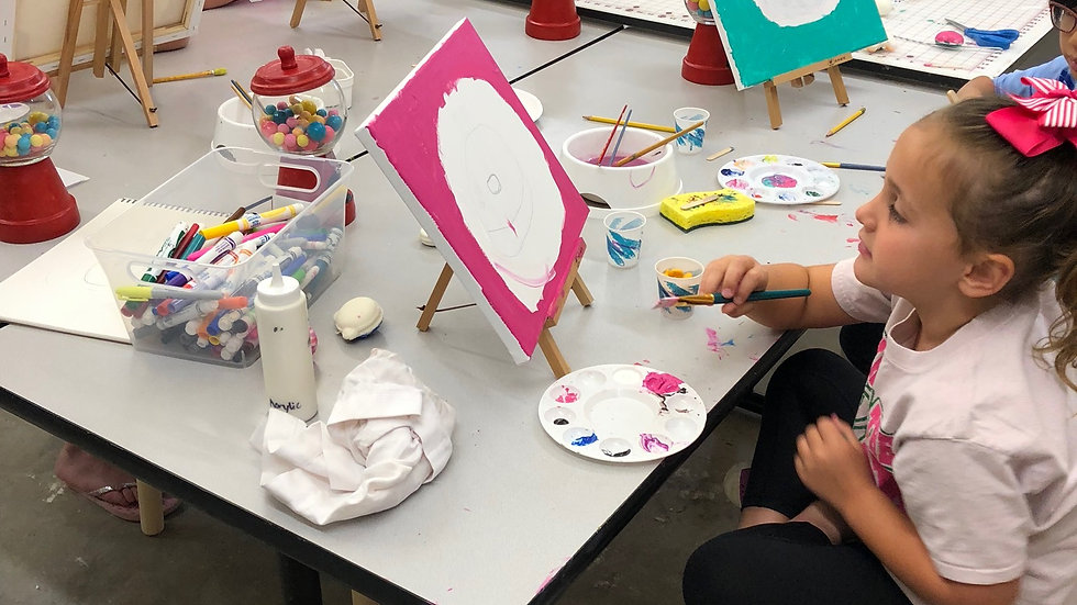 March 29 - May 24 2021 After School Art Class Grades K-6 - Mondays