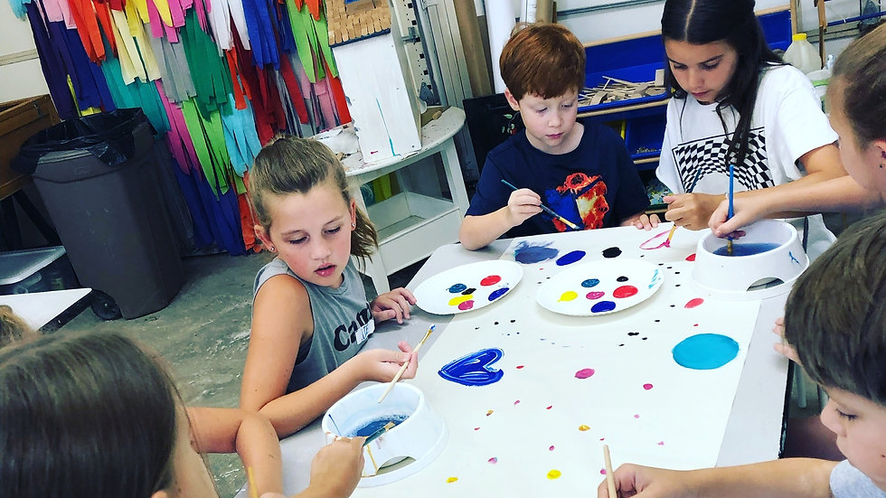 Summer 2021 Camp Session 1 - Art & Literacy - June 21 - 24