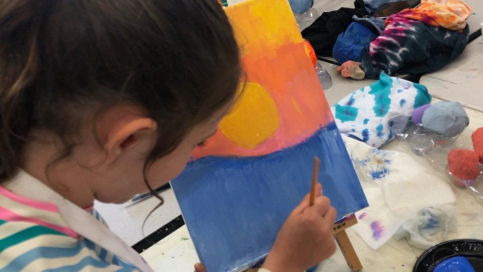 Fall 2021 After School Art Class Mondays 5:00-6:00