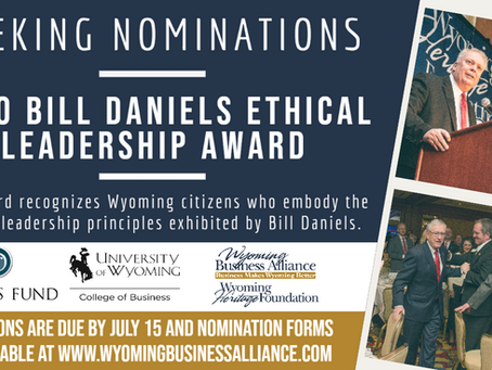 Nomination Deadline for Daniels Fund Ethical Leadership Award is July 15