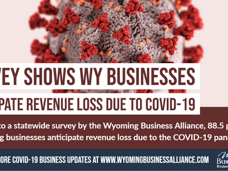 Survey shows WY businesses anticipate revenue loss due to COVID-19