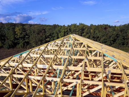 Nehezen megközelíthető helyen kivitelezett tető projekt - Pomáz