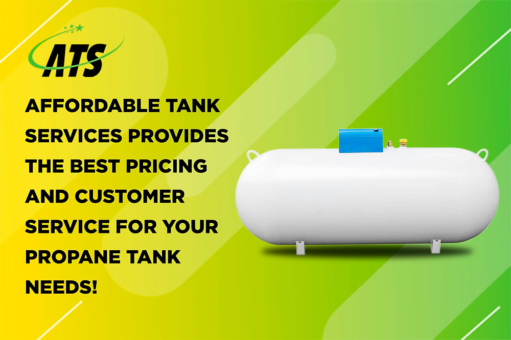 affordable tank services sells and installs propane tanks
