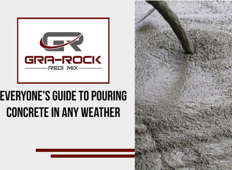 Everyone's Guide To Pouring Concrete In Any Weather