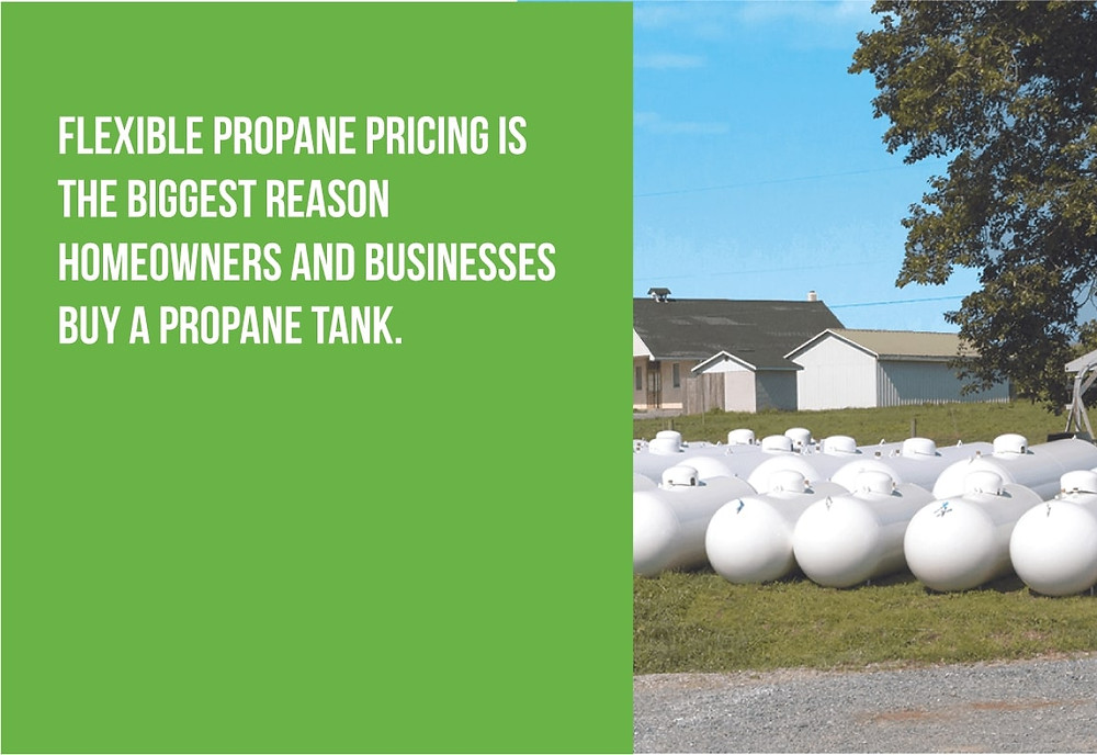 flexible propane pricing is why many people buy a propane tank