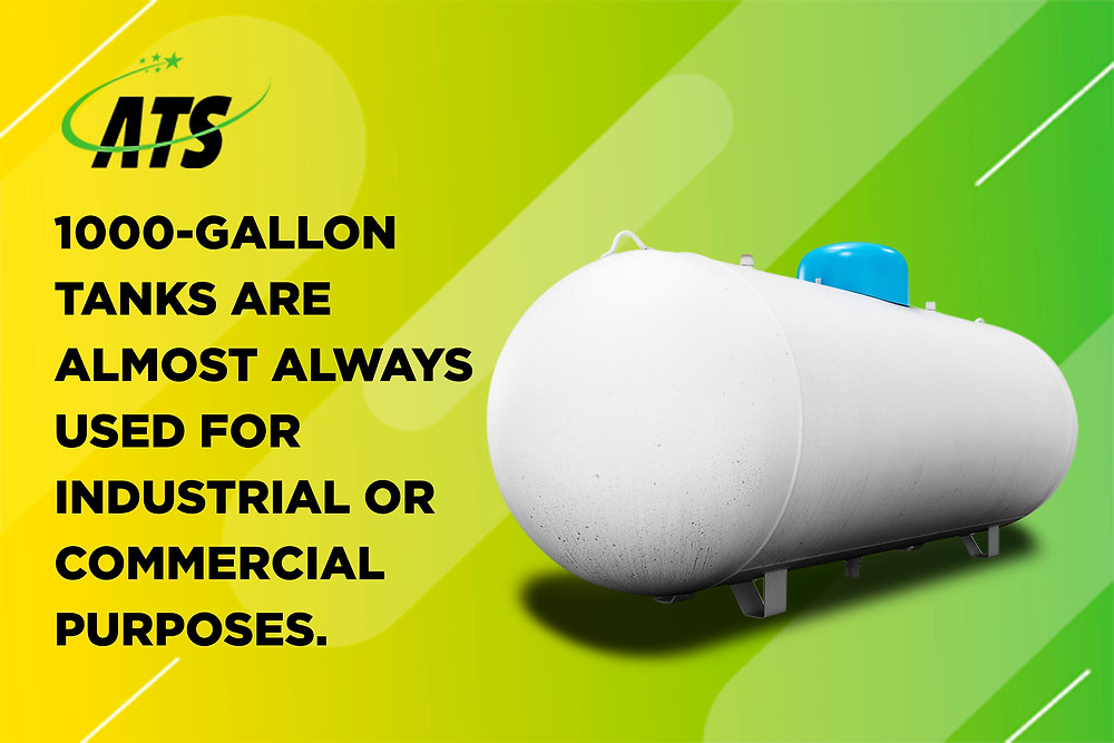 1000 gallon propane tanks are used for industrial purposes