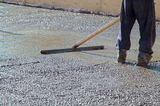 concrete placer and tool