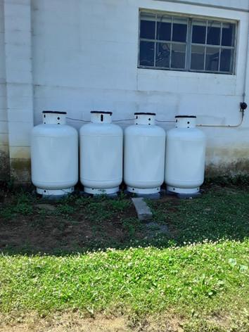 125 gallon propane tanks for sale in series