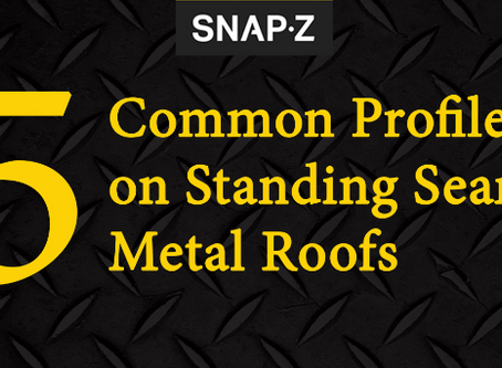 5 Common Standing Seam Metal Roof Profiles
