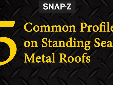 5 Common Standing Seam Metal Roof Profiles