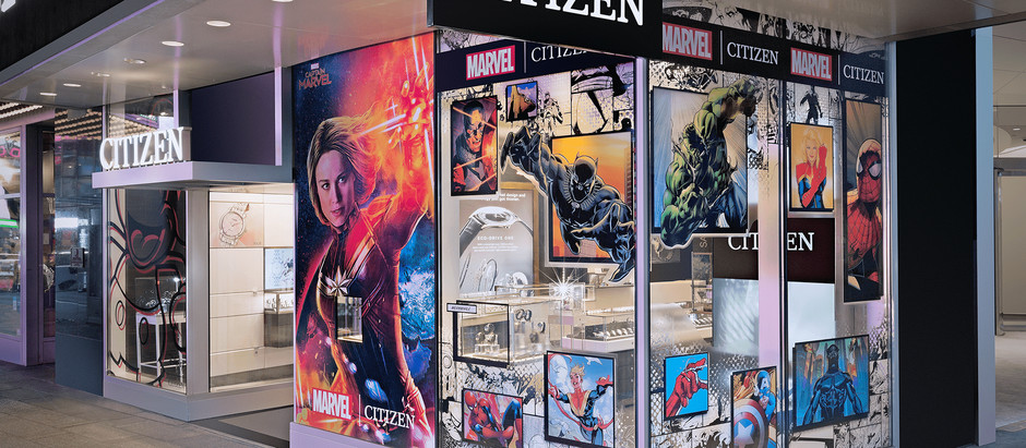 Winston Retail Partners with Marvel & Citizen