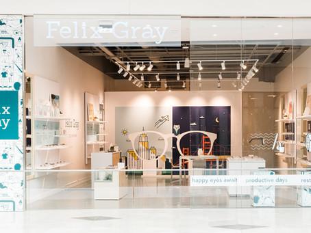 Winston Design Studio Brings Felix Gray to Valley Fair Mall