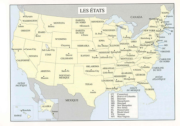 Etats-Unis USA Stages